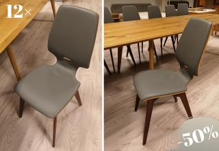 FINN chair walnut-leather