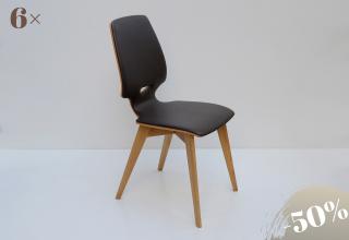FINN chair Oak leather-Terra
