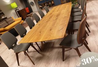 FINN Tisch 350x110 Wildeiche