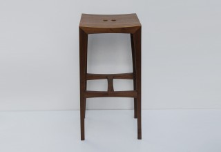 OTTO barstool black walnut