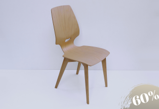FINN chair beech with oak legs